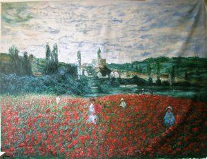 Monet Klaprozen Reproductie Schilderij