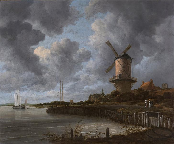 Tower Mill at Wijk bij Duurstede